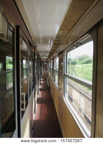 Polish Train Interioirs