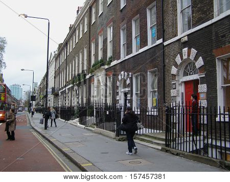 British Terraced Houses