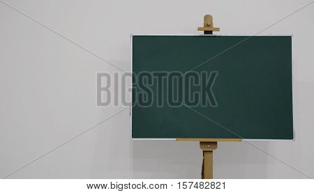 School Board, Chalk Inscription On The School Board, Boarding School