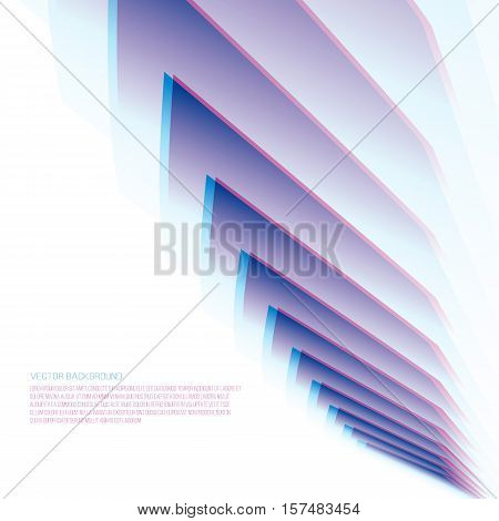 Gradient background with space. Abstract vector illustration.