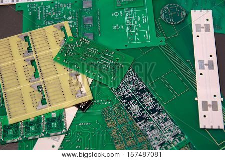 Billets of various printed circuit boards for the manufacture of electronic components. Industry