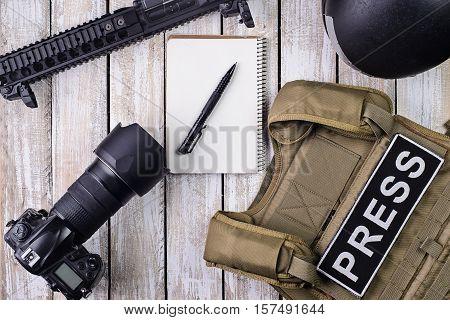 Bulletproof vest with patch
