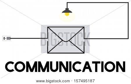 E-mail Message Inbox Communication Concept