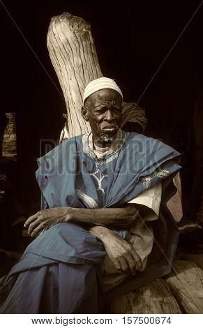 Dogon Village, Dogon Land, Tireli, Mali, Africa