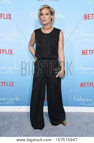 LOS ANGELES - NOV 18:  Liza Weil arrives to the Netflix's 'Gilmore Girls: A Year In The Life' Premiere on November 18, 2016 in Westwood, CA