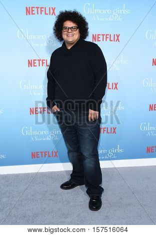 LOS ANGELES - NOV 18:  Aris Alvarado arrives to the Netflix's 'Gilmore Girls: A Year In The Life' Premiere on November 18, 2016 in Westwood, CA
