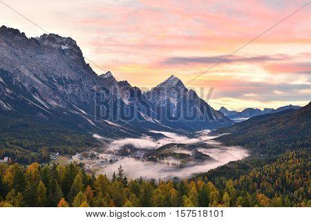 Cortina D'ampezzo Sunrise
