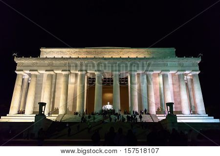 the impressive Monument in the Capital of Washington DC