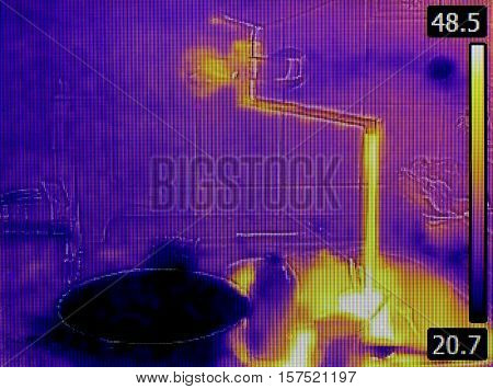 Tube in Wall Detection with Infrared Camera