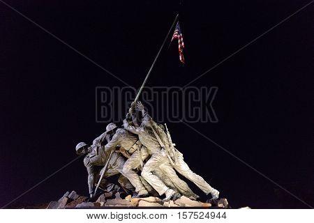 the Impressive Monument of the Capital of Washington DC