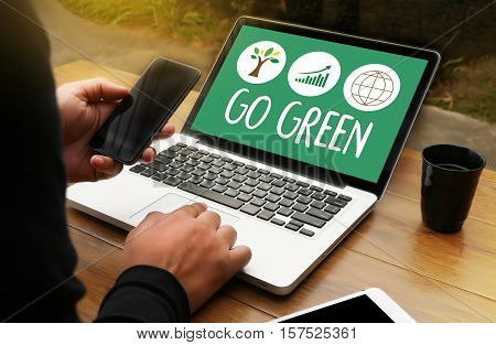 Go Green Life Preservation Protection Growth Project About Business Growth