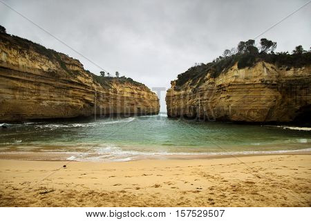 Loch Ard Gorge is part of Port Campbell National Park, in Victoria, Australia