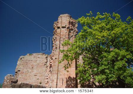 Hohenecken Castle Tower Ruins