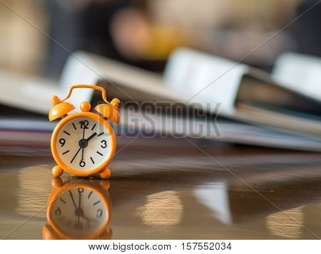 Time Appointment Waiting Watch Meeting Concept, select focus