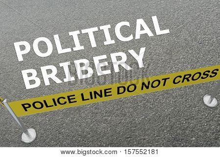 Political Bribery Concept