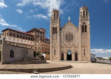 Andohalo Cathedral, Antananarivo, Madagascar