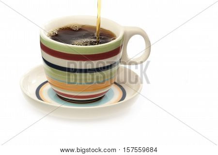 Full Cup Of Coffee