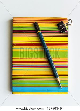 Notebook bright colors Note for daily use