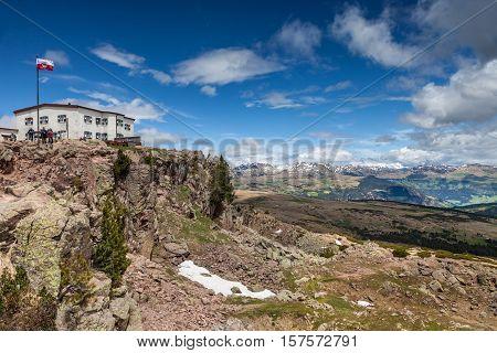 Rittner Horn Alpine Hut
