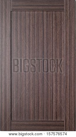 Wooden background with frame on the wall