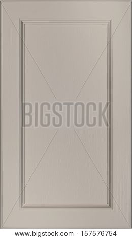 Kitchen cabinet doors facade. Background (board) for decoration and interiors