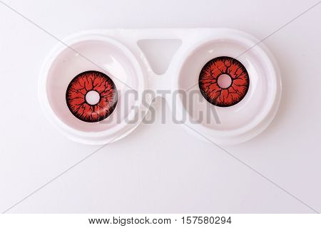 Contact Lens For Eyes In Boxes