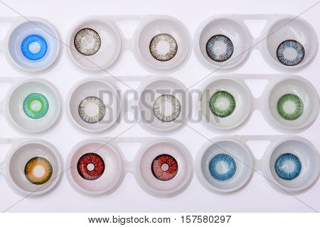 Variety Of Contact Lenses