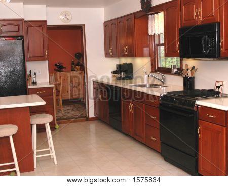 In A Kitchen