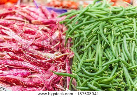 Red And Green Beans
