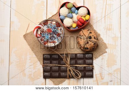 Valentine Gift With Sweets