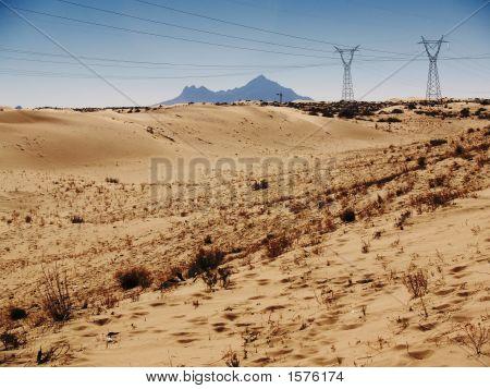 Southwest Desertic Power Lines