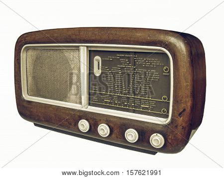 Vintage Looking Old Am Radio Tuner
