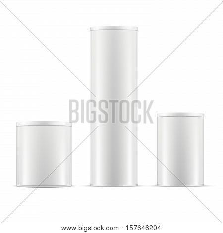 White Tin Cans  Tin Vector & Photo (Free Trial) | Bigstock