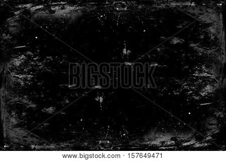 old monochrome grunge background texture