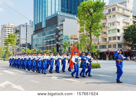Military Parade In Ho Chi Minh City