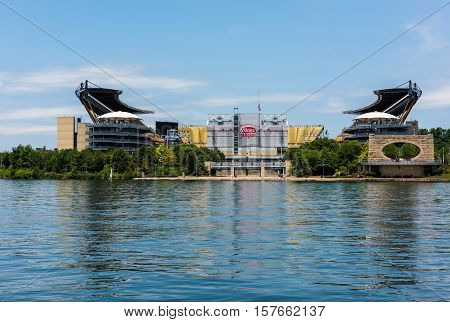 PITTSBURGH - JULY 22: Heinz Field, home of the Pittsburgh Steelers on July 22, 2016 in Pittsburgh, PA