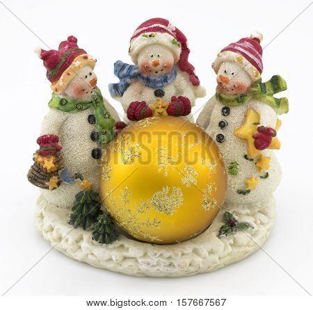 Snowmen Christmas Decor
