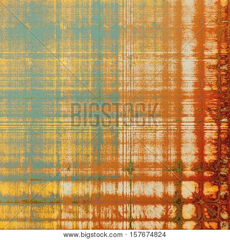 Hi res grunge texture or retro background. With different color patterns: yellow (beige); brown; green; blue; red (orange); white