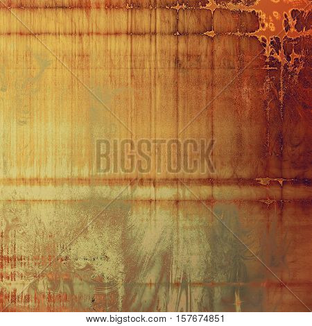 Art vintage texture, decorative grungy background. With different color patterns: yellow (beige); brown; gray; red (orange); pink