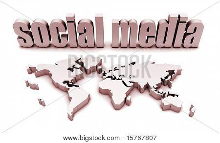 Social-Media-Plattform für eine globale Zielgruppe