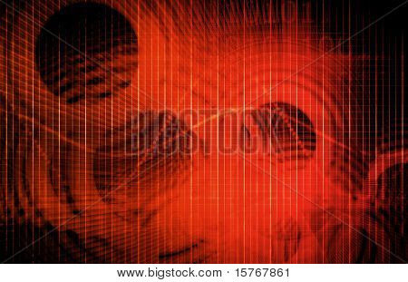 poster of Creative Background Abstract with a Modern Design