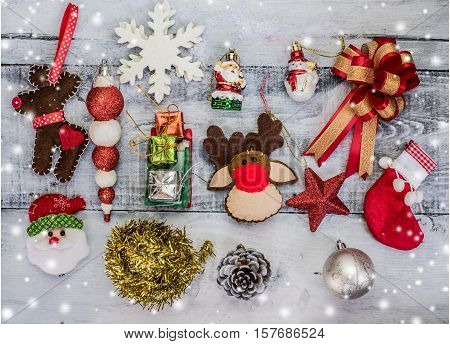 Christmas Xmas winter concept and idea decoration