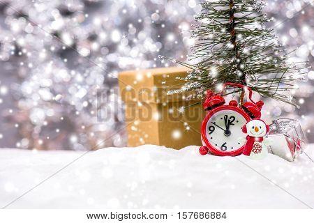 Christmas Xmas winter concept and idea decoration