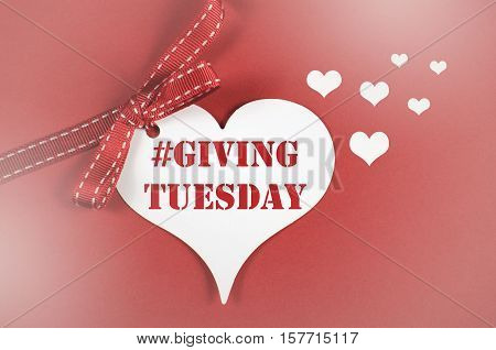 Giving Ttuesday Heart With Text