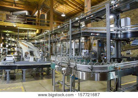 Woodford Reserves Bottling Process