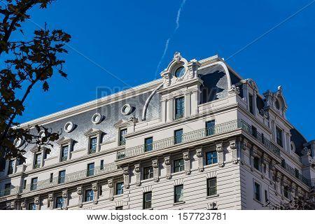 Willard Hotel Washington Dc Exterior Architecture Landmark Monument American History Luxury Facade O