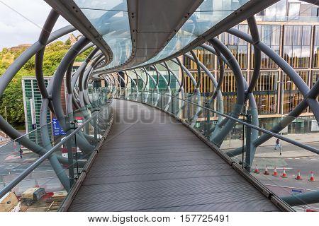Leith Street Bridge In Edinburgh