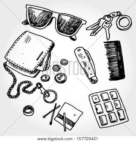 Some Pocket Stuff Doodles