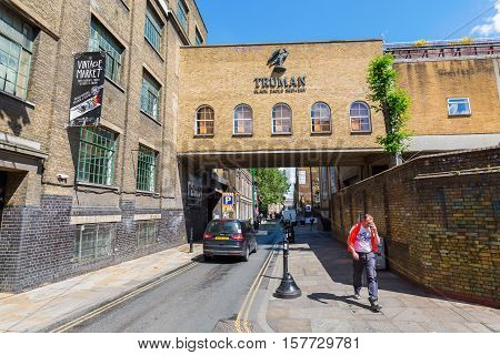 Trumans Brewery In Shoreditsch, London