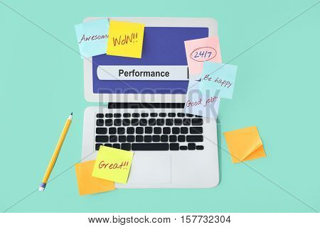 Inspire Unique Performance Development Concept